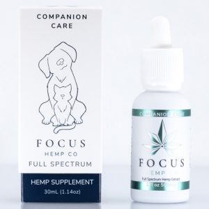 Hemp CBD oil for pets